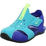Nike Sunray Protect 2, Sandalia Unisex niños, Oracle Aqua Ghost-Hyper, 22 EU