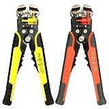 KONGZIR Herramienta De Mano Alicates, Herramienta Que Prensa Electricistas Cortador Automático De 8 Pulgadas Alicates Ajustables Alambre Del Separador Del Cable (Color : Yellow)