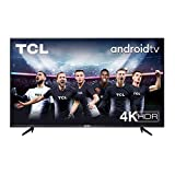 TCL 55BP615 55 Pulgadas, 4K HDR, UHD, Smart TV Powered by Android 9.0, Slim Design, Micro Dimming Pro, Android TV Smart HDR, HDR 10, Dolby Audio, Compatible con Google Assistant y Alexa
