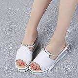ypyrhh Zapatos de Playa y Piscina para,Zapatillas de Fondo de Fugas de Fugas, Zapatos Casuales de la Playa de la Moda-Negro_36,Zapatos de Playa y Piscina