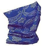 RockJock - Pañuelo multifunción para el cuello Color azul. talla única
