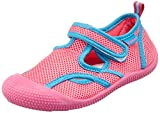 Playshoes UV-Schutz Aqua-Sandale, Zapatillas Impermeables Unisex niños, Rosa (Pink/Türkis 792), 26/27 EU