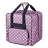RENJIFAN El disfrutar de coser sacos Máquina, manija de coser portable de mano de accesorios, la máquina de coser de la carretilla bolso de la máquina de coser rosa