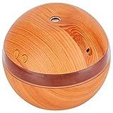 Demeras Difusor de aroma Humidificador de grano de madera Operación silenciosa Mini humidificador de pulverización Oficina